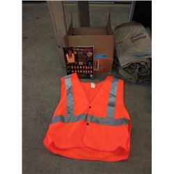 "Case of 15 ""Mono Ray"" CSA Approved Safety Vests"