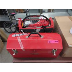 Craftsman Toolbox & Husky Tote Tool Box with Tools