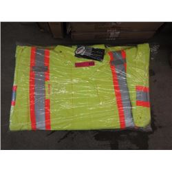 Armor Wise Waterproof Safety Jacket - 5XL Lime