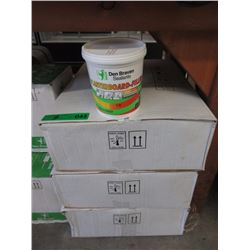 3 Cases of 1 Litre Plasterboard Filler