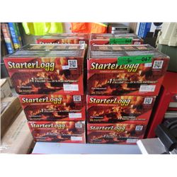 6 Boxes of Starter Logs