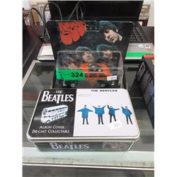 "2 Die-Cast ""The Beatles"" Collectible Vehicles"