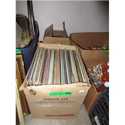 2 Boxes of Vintage LP Records
