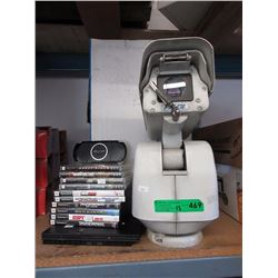 Pelco Security Camera, PSP, PlayStation 2 & Games