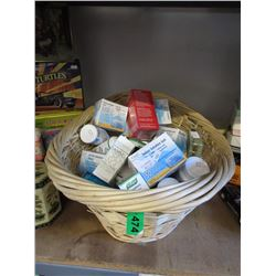Basket of New Health Care Products