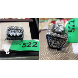 2002 Oakland Raiders AFC Championship Ring