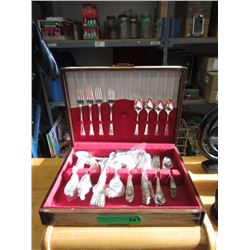 Oxford Silver Plated Spoon & Fork Set