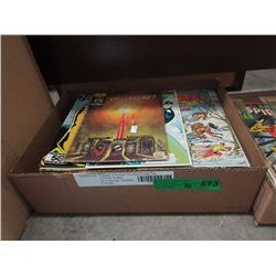 70+ Assorted Comic Books