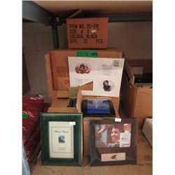 6 Boxes of New Picture Frames & Matting