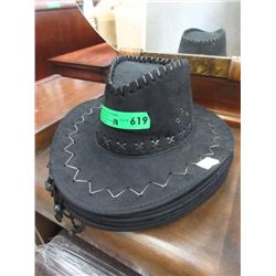 10 New Black Cowboy Hats