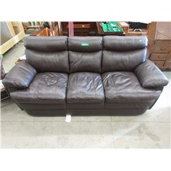 "Bonded Leather Sofa - 83"" Wide"