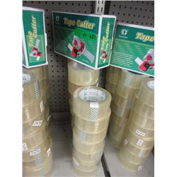 New Packing Tape Dispenser with 24 Rolls of Tape