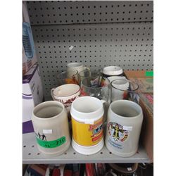 12 Tankards & Beer Glasses