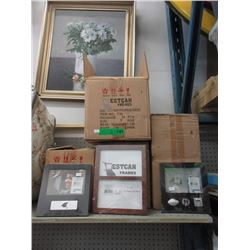 4 Cases of New Picture Frames