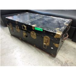 Metal Storage Trunk