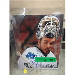20 Autographed Vancouver Canucks Photographs