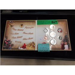 2004 Special Limited Christmas Coin Set