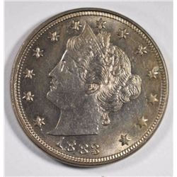 1883 LIBERTY NICKEL, CH BU