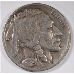 1925-S BUFFALO NICKEL, XF