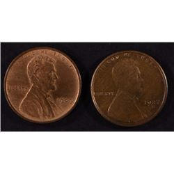 1927-S & 1909 VDB LINCOLN CENTS