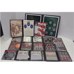 FIRST COMMEM MINT LOTS: 15 SPECIAL TRIBUE SETS,