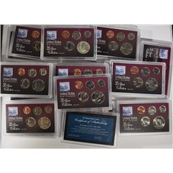 U.S. MINT COINAGE 35 YEAR COLLECTION 1963-1997