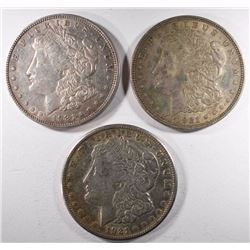 1921-P-D&S MORGAN DOLLARS, CIRC OR BETTER