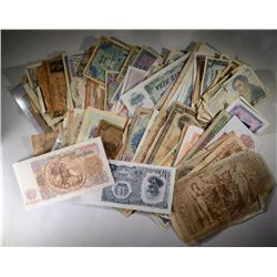 OVER 150 pc FOREIGN CURRENCY