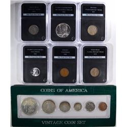 ONE YEAR ONLY ISSUED COINS;