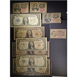 CURRENCY LOT: 2- 1923 SILVER CERTS $1.00;