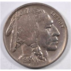 1918-D BUFFALO NICKEL  XF