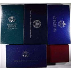 5 Commemorative Coin Sets
