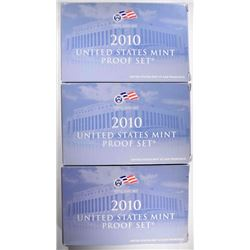 3-2010 Proof Sets