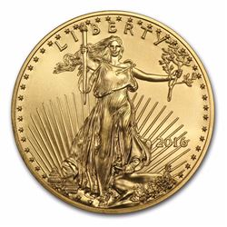 2016 $50 American Eagle 1 oz Gold Coin