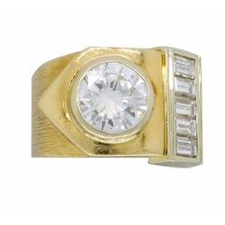 14KT Yellow Gold 1.98ctw Diamond Ring