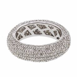 14KT White Gold 3.01ctw Diamond Ring