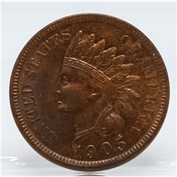1905 Indian Head One Cent