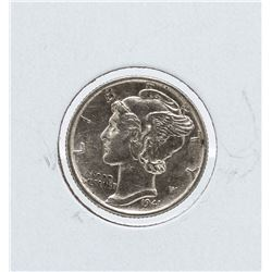 1945-S Mercury Dime Double S Stamp