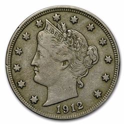 1912-D Liberty Head V Nickel Coin