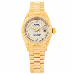 Rolex President 18KT Yellow Gold Datejust Ladies Wristwatch