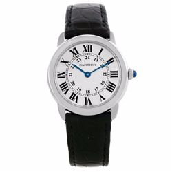 Cartier Ronde Solo Stainless Steel Ladies Wristwatch