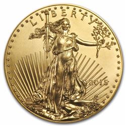 2015 $50 American Eagle 1 oz Gold Coin