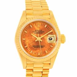 Rolex President 18KT Yellow Gold Ladies Datejust Wristwatch