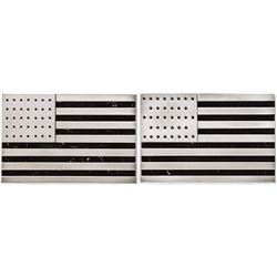17th and 18th US Flag Silver Bars