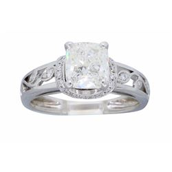 18KT White Gold 1.37ctw Diamond Ring