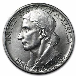 1936-S Boone Commemorative Half Dollar Coin
