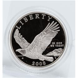 2008 $1 Bald Eagle Silver Coin
