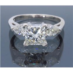14K White Gold 1.01ctw Diamond Ring