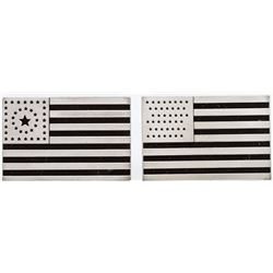 20th and 21th US Flag Silver Bars