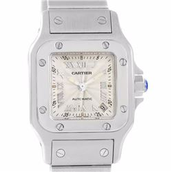 Cartier Santos Galbee Stainless Steel Ladies Wristwatch